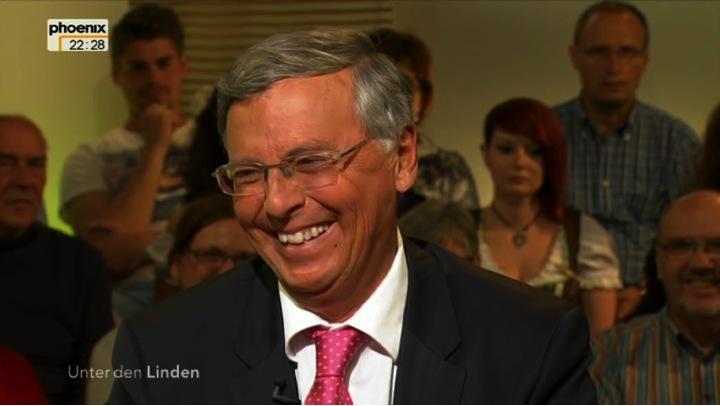 Die Augen lachen mit. Ein Ausdruck echt erlebter Freude.